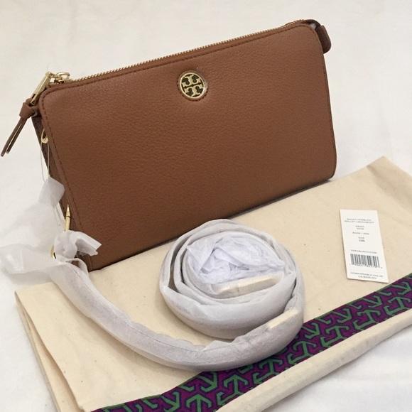 e1942bf89dc Tory Burch Bags | Pebbled Leather Crossbody | Poshmark